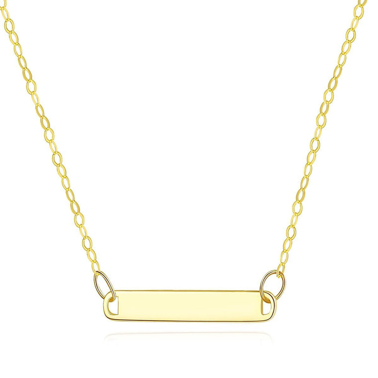 14K Gold Necklace Jewelry