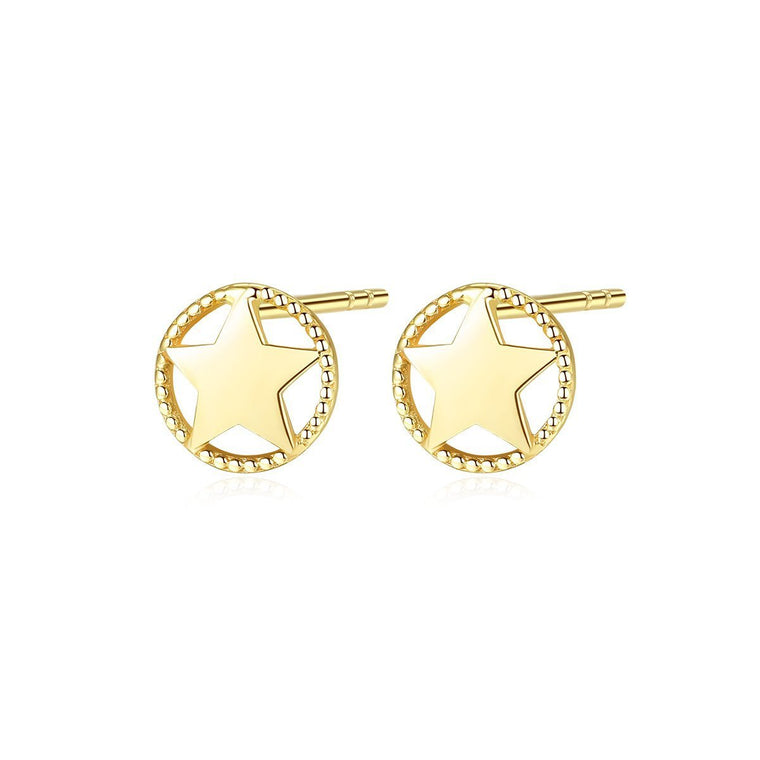 14K gold stud earrings studs fine jewellery