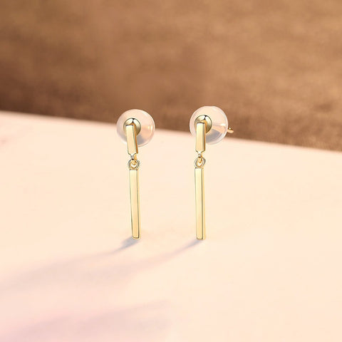 Gift for women gift for girl birthday present men girlfirend wife daughter14K gold stud earrings for women studs fine jewellery