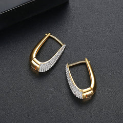Gift for women gift for girl birthday present men girlfirend wife daughter18K Gold Plated Hoops Huggie Earrings 2019 for Women Accessories Earing Fashion Jewelry