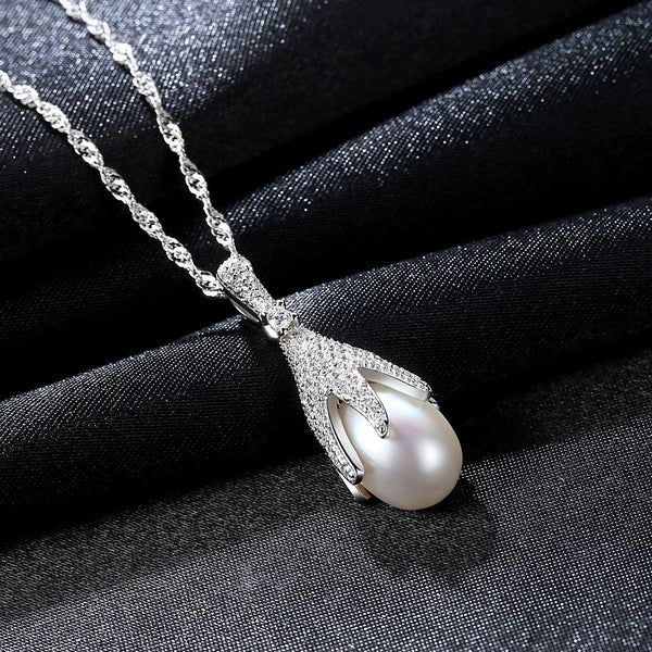 Silver Necklace Women/'s Jewelry Chain Present Gift For Woman or Girl Birthday