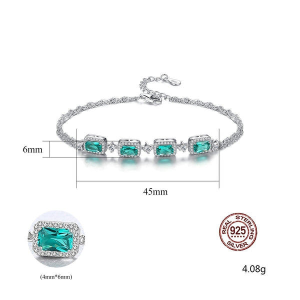 Gift for women gift for girl birthday present men girlfirend wife daughter925 Sterling Silver Bracelets Jewelry for Women
