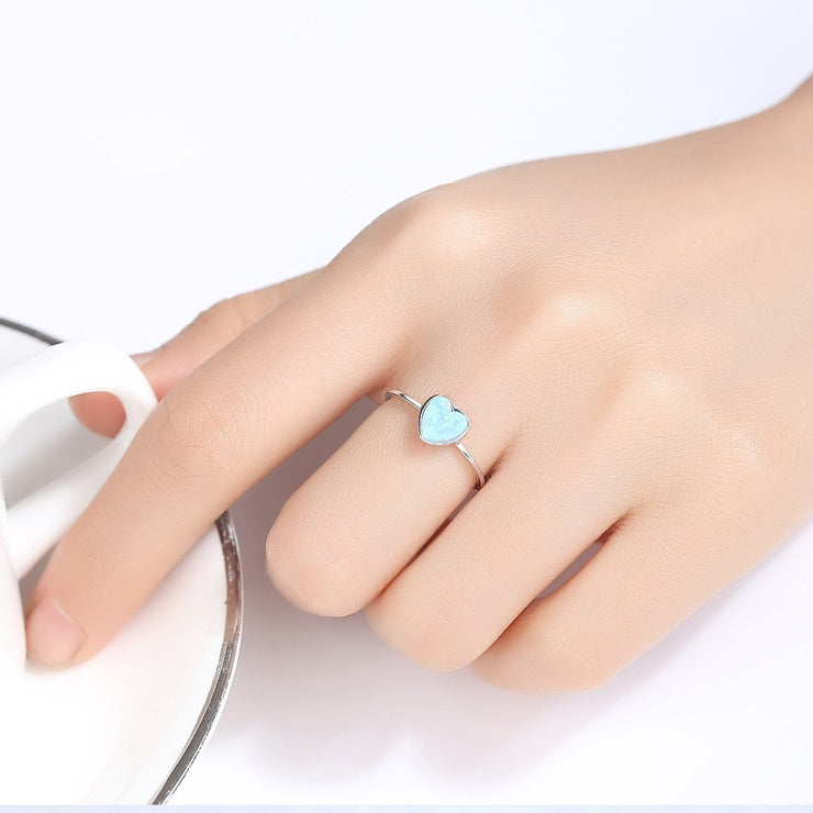 Gift for women gift for girl birthday present men girlfirend wife daughter925 Sterling Silver Gemstone Ring Jewelry for Women