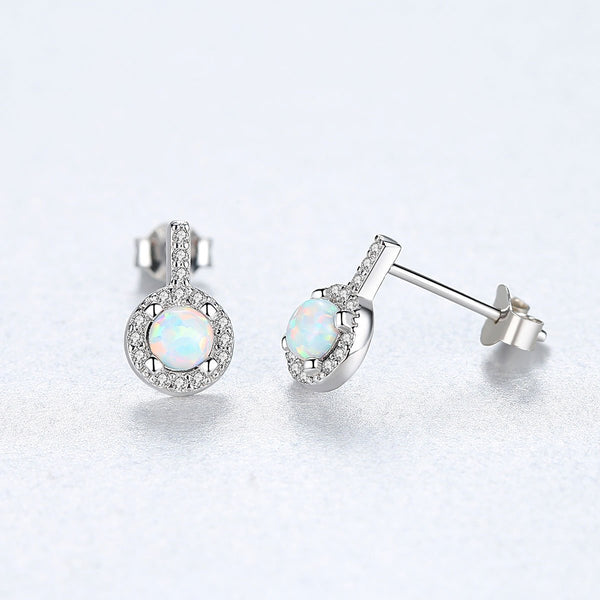 Gift for women gift for girl birthday present men girlfirend wife daughter925 Sterling Silver Jewelry Gemstone Earrings for Women