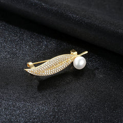 Gift for women gift for girl birthday present men girlfirend wife daughter925 Sterling Silver Jewelry Natural Freshwater Pearl Brooches for Women