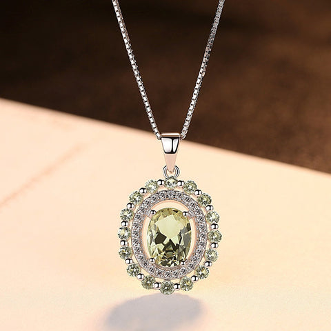 wholesale and dropshipping 925 Sterling Silver Necklace Jewelry Gemstone Pendants