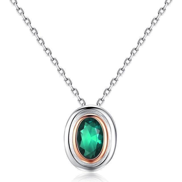 925 Sterling Silver Necklace Jewelry Gemstone Pendant