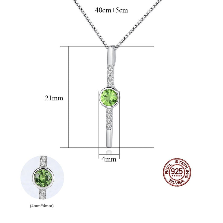 Gift for women gift for girl birthday present men girlfirend wife daughter925 Sterling Silver Necklace Jewelry Gemstone Pendants