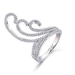 Gift for women gift for girl birthday present men girlfirend wife daughter925 Sterling Silver Ring Jewellery for Women