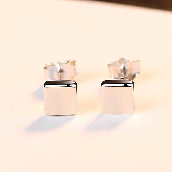 Gift for women gift for girl birthday present men girlfirend wife daughter925 Sterling Silver Stud Earrings Studs Earings Jewelry for Women