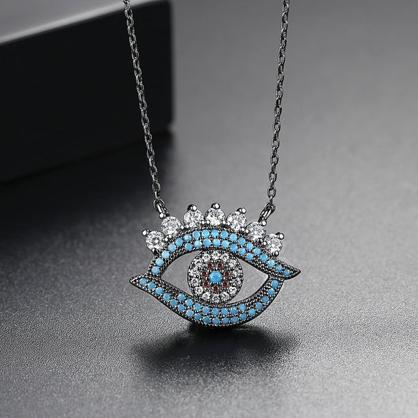 Gift for women gift for girl birthday present men girlfirend wife daughterBohemian Jewelry Vintage Evil Eye Necklace Women Jewelry Necklaces Pendants