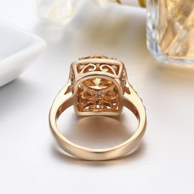 Gift for women gift for girl birthday present men girlfirend wife daughterFashion Gold Plated Rings Jewelry for Women