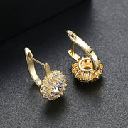 Gift for women gift for girl birthday present men girlfirend wife daughterGold Plated Earings Fashion Jewelry Stud Earrings for Women