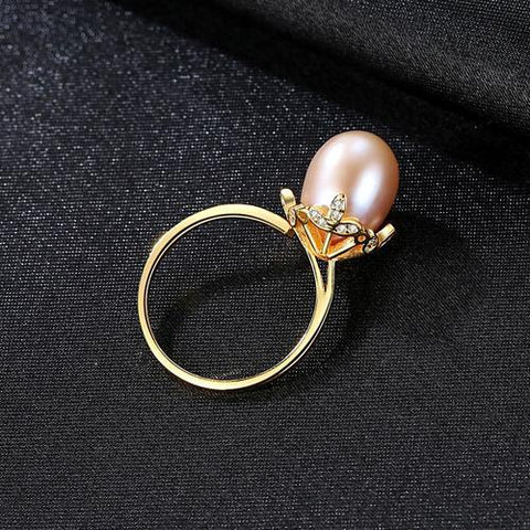 wholesale and dropshipping Natural Freshwater Pearl 925 Sterling Silver Ring Jewelry for Women