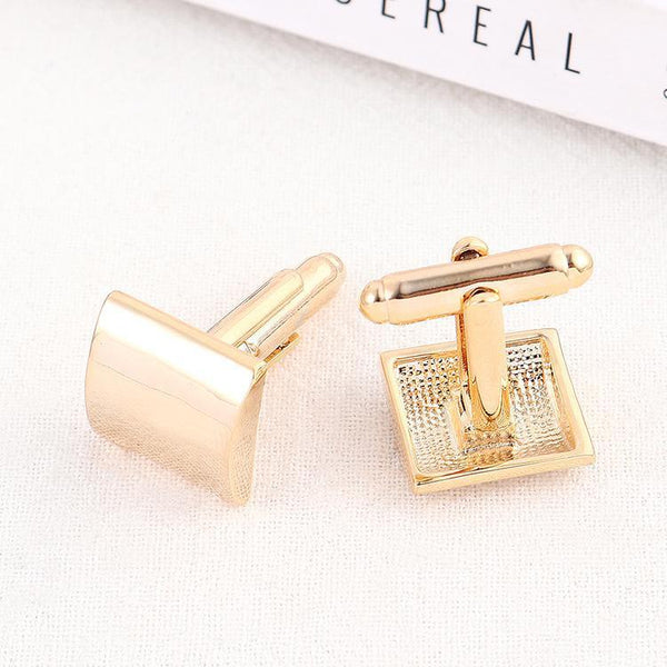 Gift for women gift for girl birthday present men girlfirend wife daughterPinannie Platinum/ Gold Plated Shirt Cuff Links Wedding Cufflinks for Mens
