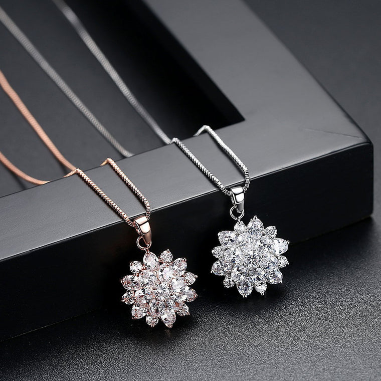 Sunflower Necklace Fashion Jewelry Pendants Collares De Moda 2019