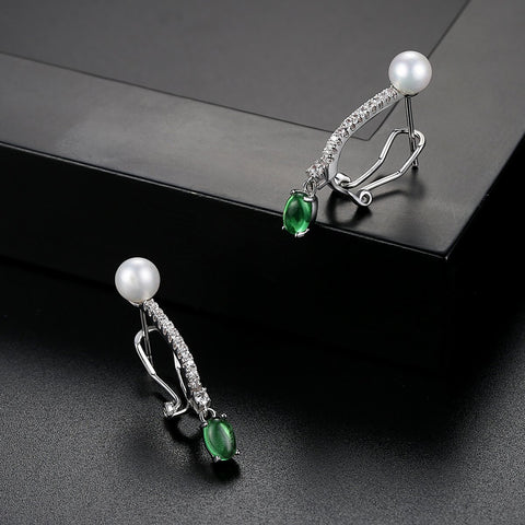 wholesale and dropshipping White Gold Plated Earings Fashion Jewelry Drop Dangle Earrings for Women