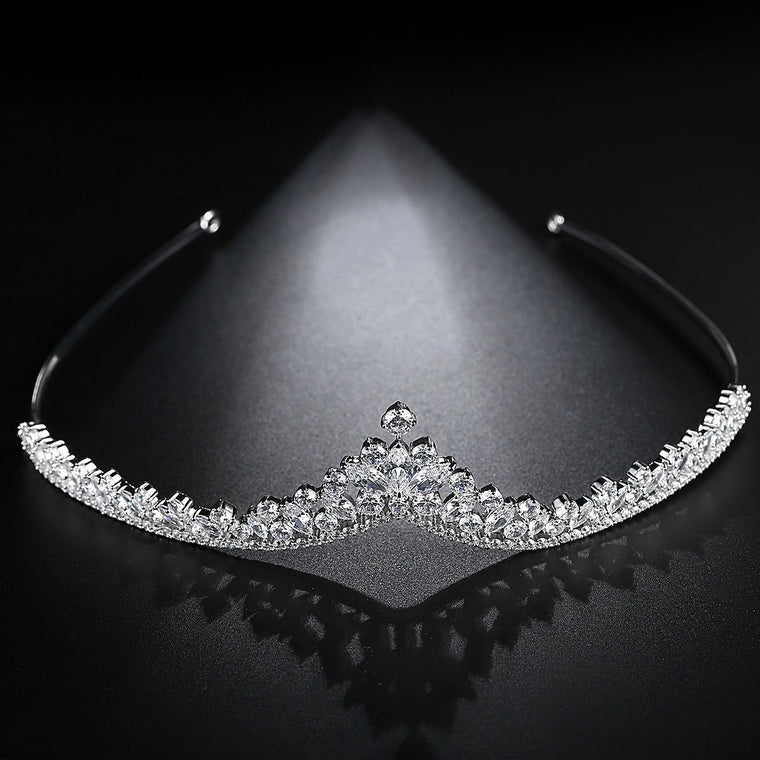 Women's Bride Bridesmaids Crown Hairband Hair Accessories Headdress