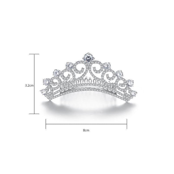 Gift for women gift for girl birthday present men girlfirend wife daughterWomen's Bride Bridesmaids Crown Hairband Hair Accessories Headdress