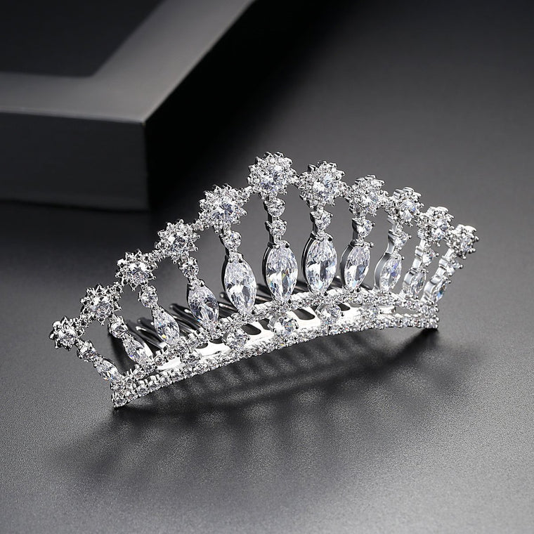 Women's Bride Bridesmaids Crown Hairband Wedding Hair Accessories Headdress