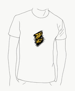 Scratch Logo w/yellow (best on white shirt)