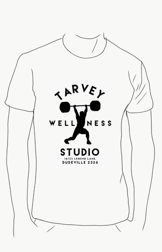 WELLNESS Studio White Tshirt / Romper