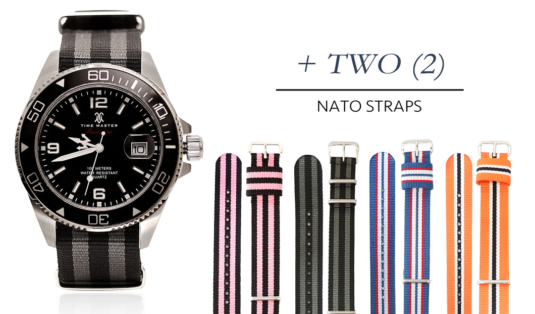ANY Poseidon NATO + ANY Two NATO Straps