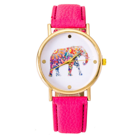 Vibrant Elephant Watch