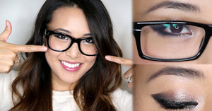 Eyeglasses and makeup tips