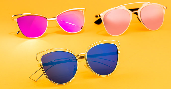 Coloured Lens Sunglasses And Why They Are So Cool