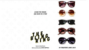 The Bling Ring Movie Posters with Sunglasses