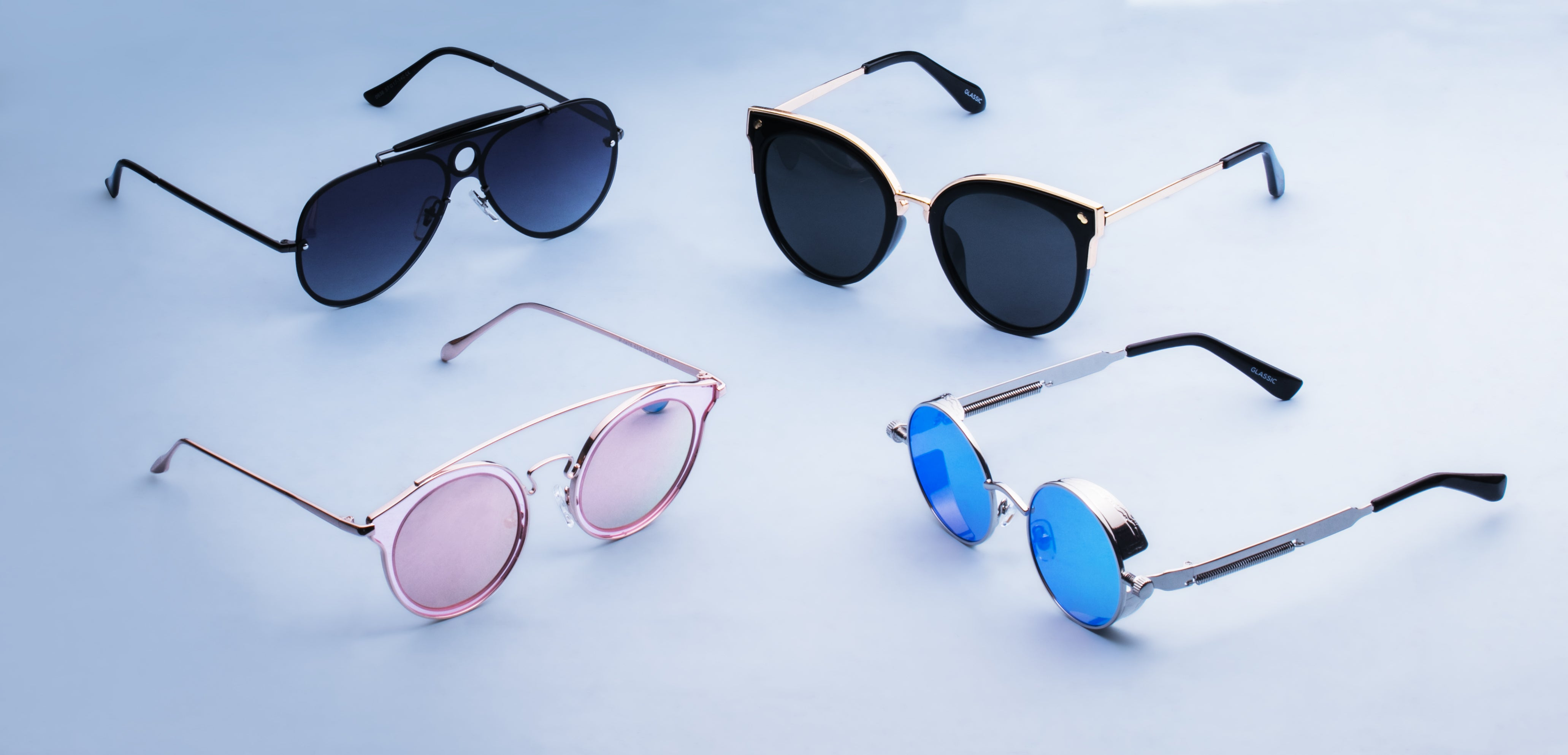 The Dazzle Collection—Sunglasses That Mix Art And Design Into One Frame