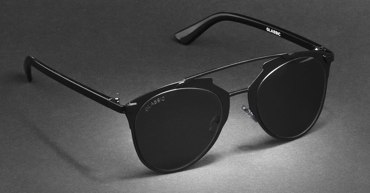 Glassic Answers: Why Are (Most) Sunglasses Black In Colour?