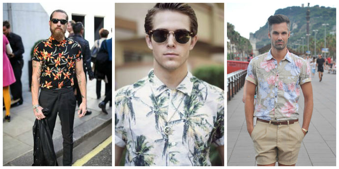 6 Floral Printed Shirts And How To Match them with Sunglasses