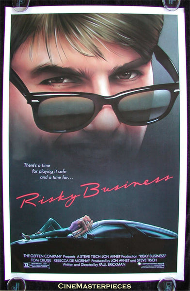 a25be617a25 Another iconic movie and iconic retro square sunglasses to go with it.  Risky Business s poster shows Tom Cat in his prime.