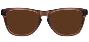 Sepia Square Polarized Sunglasses for Women - Quad - Front Angle