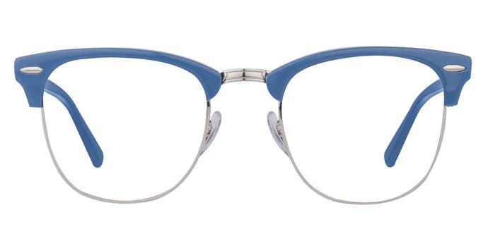 Glassic - Stout in Chrome Blue For Men Eyeglasses For Men