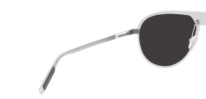 Bullet Silver Pilot Polarized Sunglasses for Men - Magneto - Back Angle