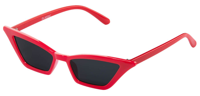 Cherry Cateye Sunglasses for Women Daunt Side