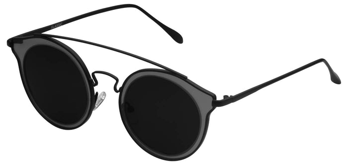 Midnight Black Polarized Sunglasses For Men Pact Side