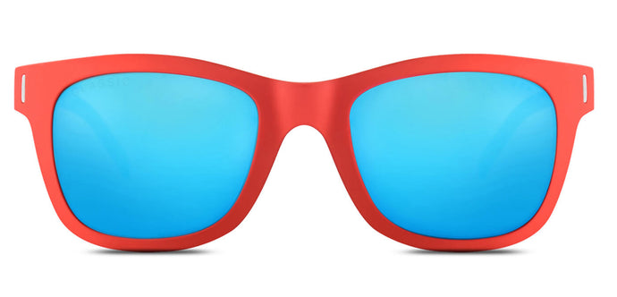 Red Lory Square Polarized Sunglasses for Women - Finch - Front Angle