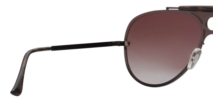 Sepia Pilot Polarized Sunglasses For Men Lucid Back