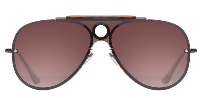 Sepia Pilot Polarized Sunglasses For Men Lucid Front