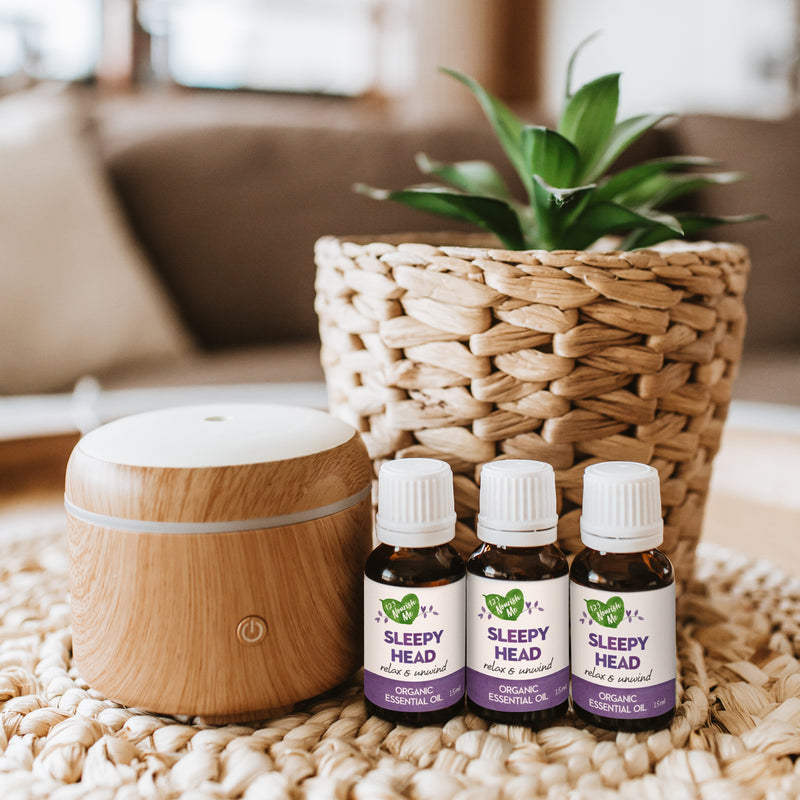 Sleepy Head – Certified Organic Essential Oil