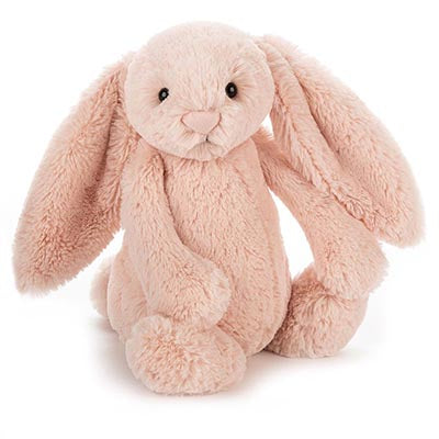Jellycat- Bashful Bunny- blush pink