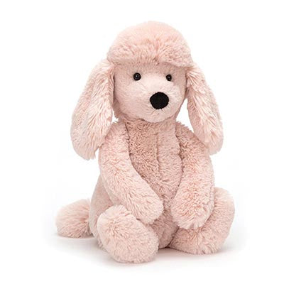 Jellycat- Bashful Poodle- Blush (NEW IN)