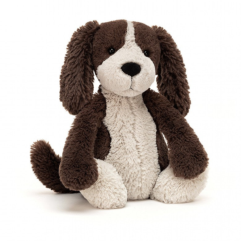 Jellycat-Bashful Puppy - Brown and White (NEW IN)