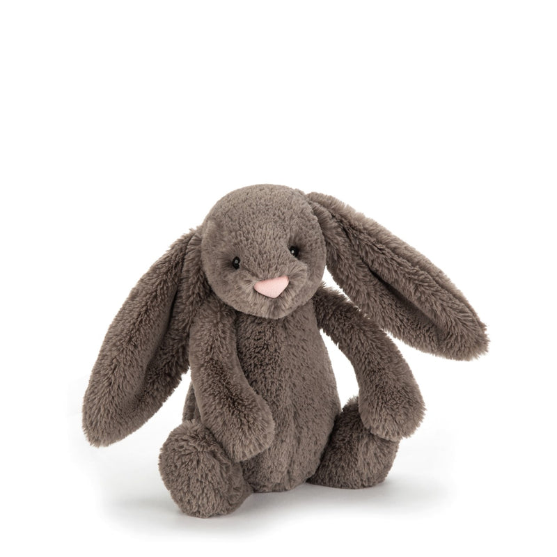 Jellycat- Bashful Bunny- Chocolate Brown (NEW IN)