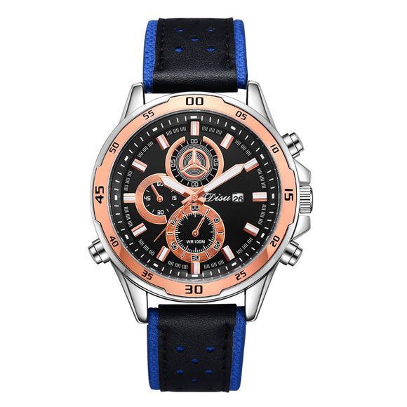 Bussiness Retro Design Alloy Quartz Wrist Watch