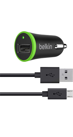 Belkin Car Charger Micro-USB-kabel 1,2m